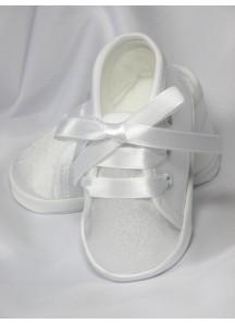Atłasowe buciki wiązane 2