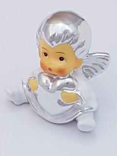 Mały Aniołek z serduszkiem 4cm
