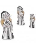 Aniołek z seruszkiem - figurka 15 cm