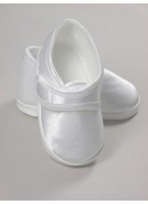 Atłasowe buciki na rzep