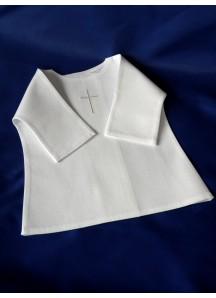 Haftowana szatka do chrztu - koszulka