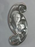 Srebrny Obrazek - Maria z Dzieciątkiem - 2