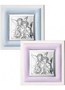 Anioły na poduszce w ramce