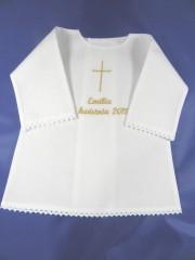 Szatka do chrztu-koszulka z koronką [1]