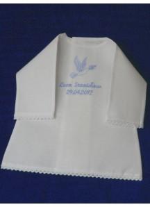 Szatka do chrztu-koszulka z koronką [2]
