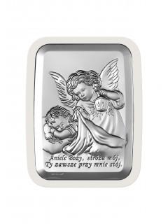 Aniołek z latarenką - obrazek (rozmiar: 11 cm x 15 cm)